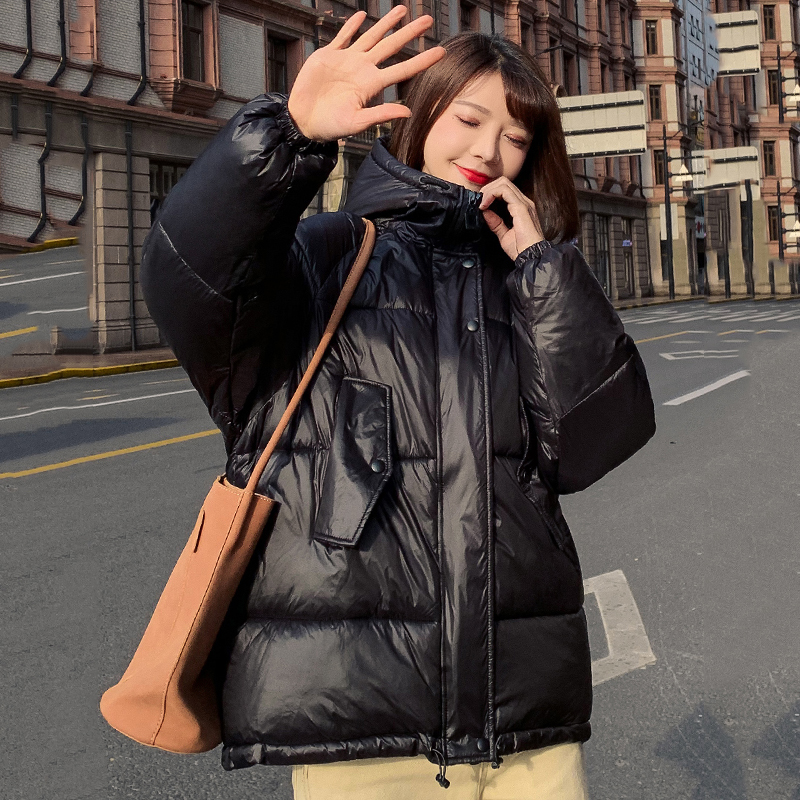 High Quality 2019 Winter Jacket Women Stand Collar Hooded Warm Thicken Female Coat Padded Loose   Parka   Mujer Invierno