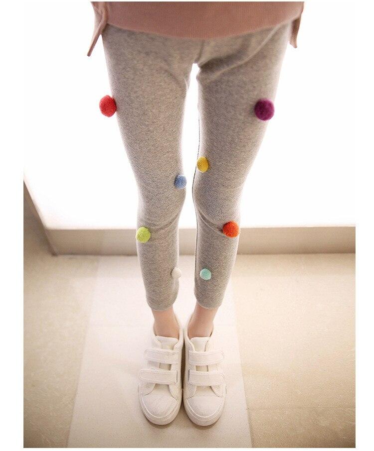 Lined Trousers Pants Leggings Baby Thermal Skinny 3-9 Years Kids Girls