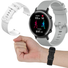 20 22Mm Cho Huawei HONOR Magic Đồng Hồ 2 42 46Mm/GT/Amazfit GTR 42Mm/bip Cho Garmin Forerunner 645/245/Vivoactive 3 Dây Đeo Silicone(China)