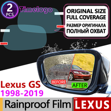 For Lexus GS 1998-2019 GS300 GS400 GS430 GS450h GS200t Anti-Fog Films Rearview Mirror Rainproof Accessories F Sport 300 400 430