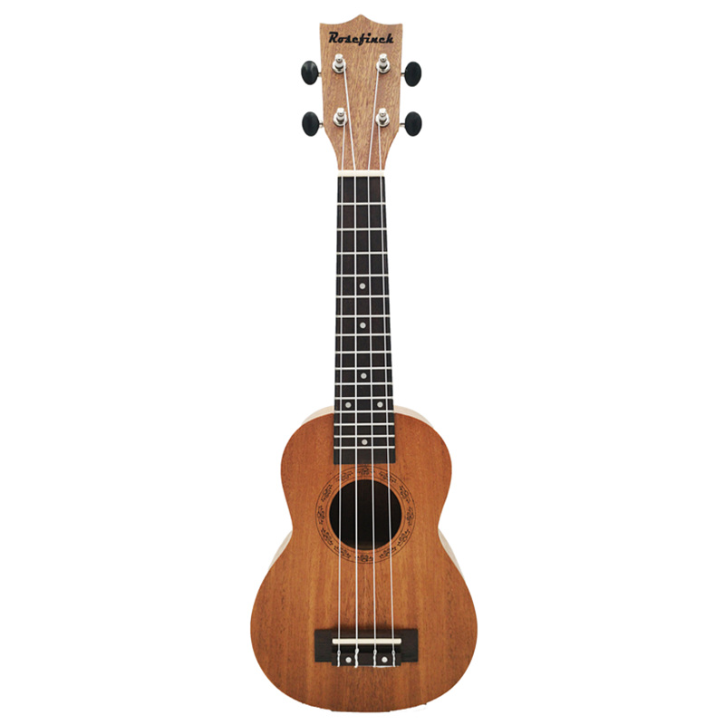 21inch Hawaiian Ukulele 4 String Wood Color Ukulele Concert Mini Guitar Beginner Ukulele UK101
