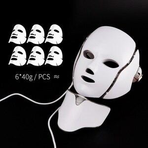 Image 4 - Foreverlily LED Light Photon Therapy Mask 7 Colors Light Treatment Skin Rejuvenation Anti Wrinkle Facial Beauty Skin Care Mask