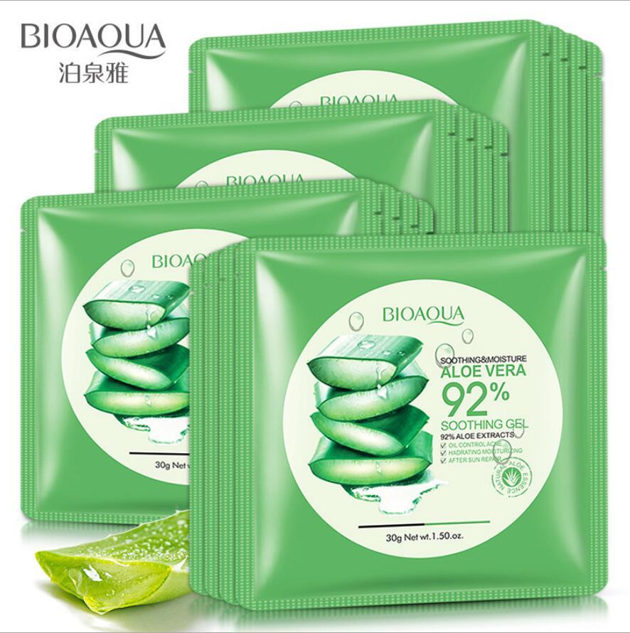 1pcs Aloe Vera Extract Facial Mask Skin Care Face Mask Whitening Hydrating Moisturizing Lasting Moisture Mask Skin Care