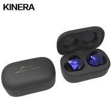 KINERA Mini auriculares TWS inalámbricos con Bluetooth 5,0, dispositivo HIFI con cancelación de ruido y micrófono