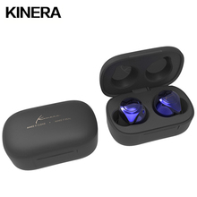 KINERA YH623 מיני Bluetooth 5.0 באוזן צג אוזניות TWS אלחוטי HIFI רעש ביטול Earbud בס ספורט משחק IEM עם מיקרופון