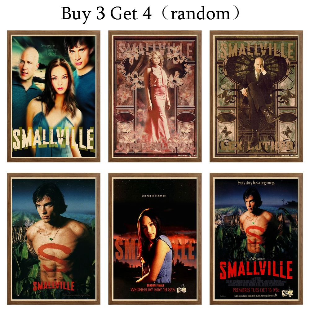 Lana Lang (Smallville) Posters & Prints Wall Poster  Painting Decal Retro Movie Poster Decorative Painting For Home Decor42X30cm