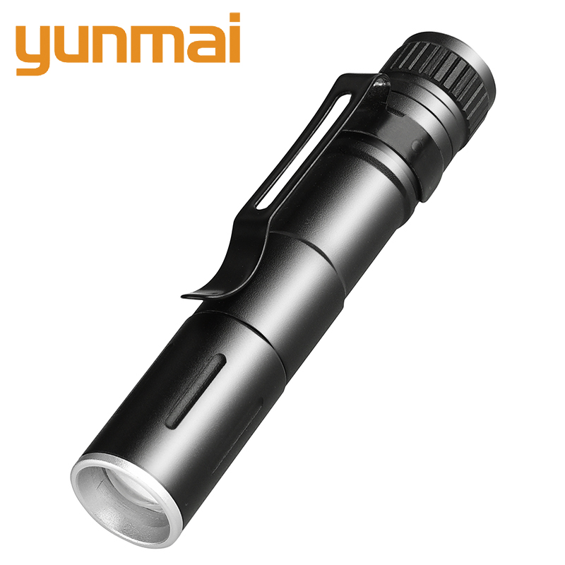 1601 XP-G Q5 Mini LED Flashlight ZOOM 7W 2000LM Waterproof Torch Lanterna AAA Battery Led For Camping Emergency