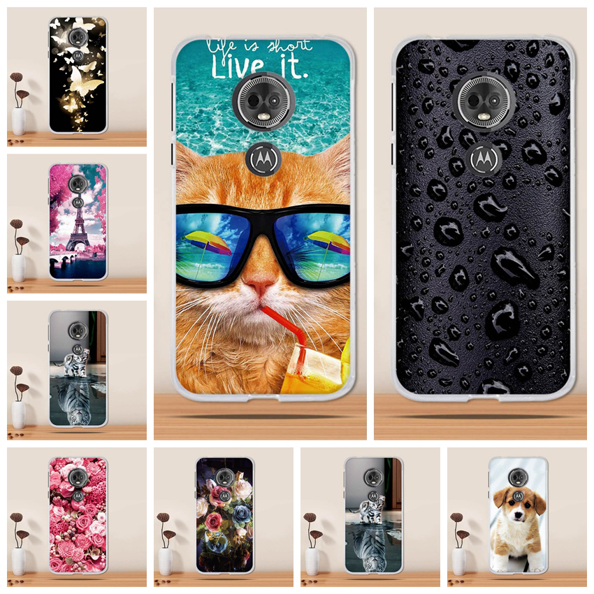 For Moto G6 Play Case Cover Silicone Coque For Motorola Moto E5 Case Cover 3D Tpu Fundas Capa For Motorola G6 Play Phone Case