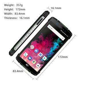 "Image 4 - הגלובלי גרסה HOMTOM מכירה Z11 אנדרואיד 8.1 נייד טלפון IP68 5.99 ""MTK6750T 10000mAh גדול סוללה 4GB RAM 64GB ROM Smartphone"