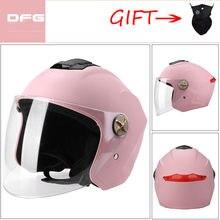 Capacete de moto para scooter motocicleta rosto aberto clássico original flip up capacete