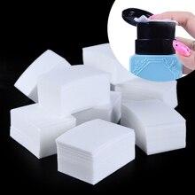 900 шт./упак. инструменты для ногтей маникюр средство для снятия гель-лака салфетки безворсовые хлопчатобумажные салфетки для дизайна ногтей, что-нибудь вкусненькое Pad Бумага Маникюр BE253-1