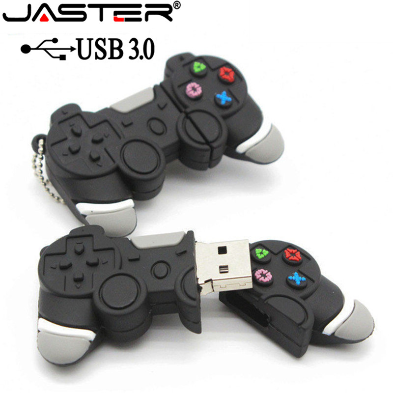 JASTER USB 3.0 Hot Sale Usb Stick Game Handle Pen Drive 64GB/32GB/16GB/8GB/4GB Pendrive Usb Stick Free Shipping Flash Card Gift