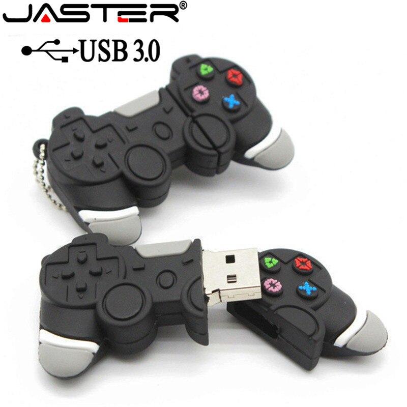 JASTER USB 3.0 Hot Sale Usb Stick Game Handle Pen Drive 64GB/32GB/16GB/8GB/4GB Pendrive Usb Stick Free Shipping Flash Card Gift