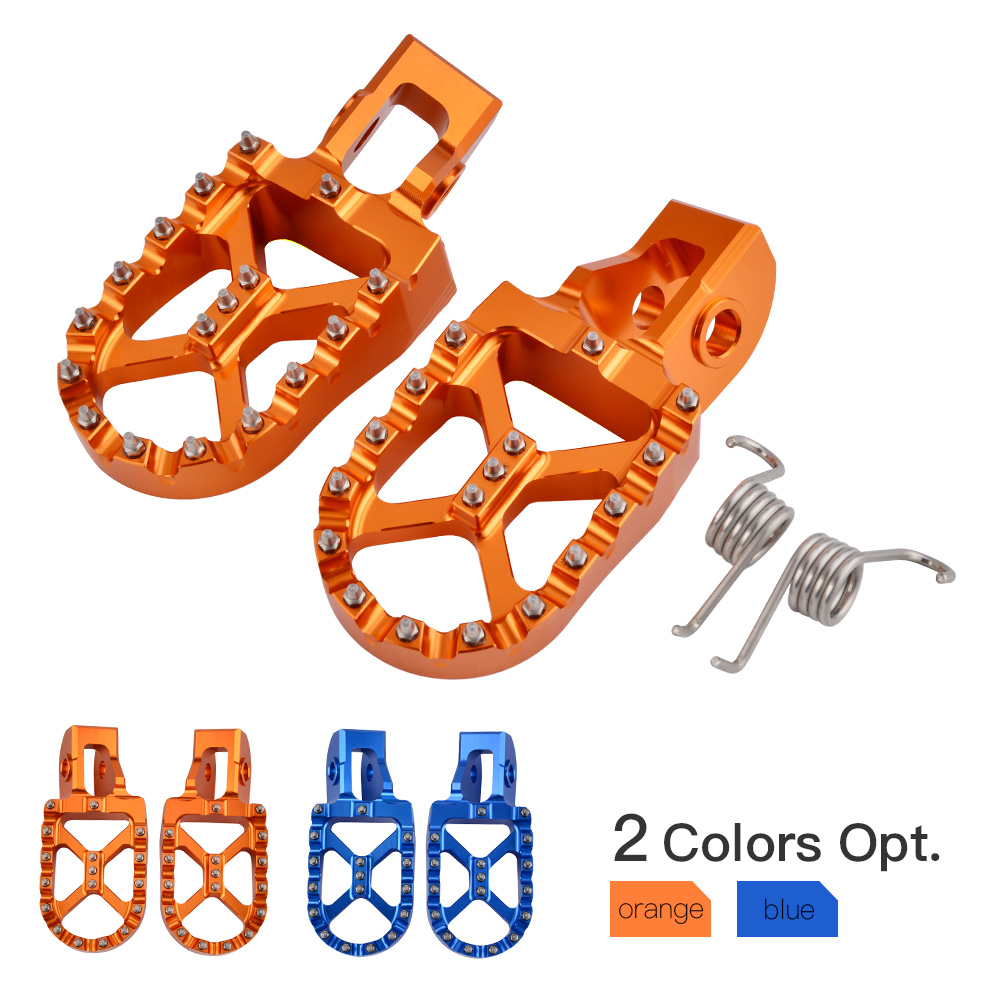 CNC Foot Pegs Pedal Footrests For KTM 125 150 200 250 300 350 450 500 SX EXC EXCF XC XCW 2017 2018 2019 2020 125/150SX 2016
