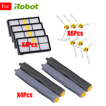 Compatible For iRobot Roomba 800 900 Series 805 860 865 870 871 880 890 960 980 Vacuum Clean Replacement Parts Side Brush Filter replenishement kit for irobot roomba 800 900 series 805 860 870 871 880 890 960 980 vacuum accessories replacement parts