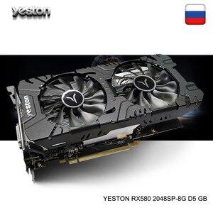 Yeston Radeon RX 580 GPU 8GB G