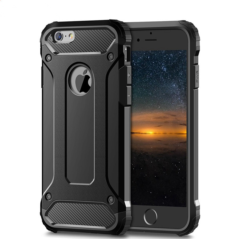 Rugged Layer Armor Case for iPhone 11 Pro Max 2019 5S 5 Se 5C 6 6S 7 7G 8 Plus X XR XS Max Case Heavy Duty Shockproof Case