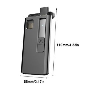 Image 3 - 1200mAh Portable Charging Box Universal Charger Case for JUUL Electronic Cigarette 3 Times for JUUL Accessories