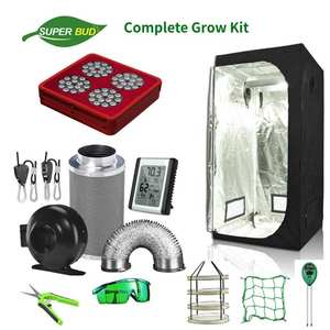 Grow-Tent-Combo Odor-Control-System Air-Ventilation Hydroponic Complete Superbud LED
