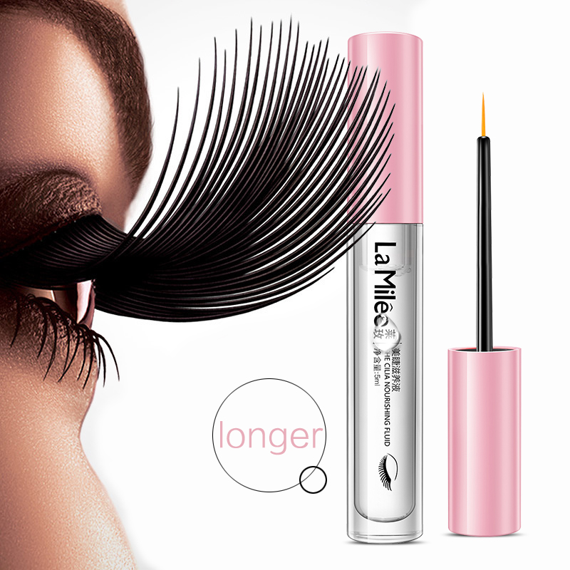 La Milee Eyelash Growth Nutrient Liquid Eye Eyelash Extension Thickening Long Length Strong Growth Eyelash Eye Care 5ml