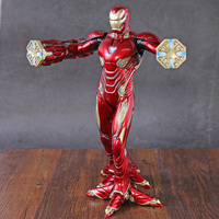 Crazy Toys Battering Ram Iron Man Mark 50 Foot Clamps Ver. PVC Figure Collectible Model Toy