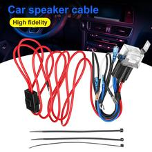2M 12V Horn Wiring Harness Relay Kit For Car Truck Grille Mount Blast Tone Horns Car Motorcycle Professional spare parts 12v 24v relay harness control cable for h4 hi lo hid bulbs wiring controller