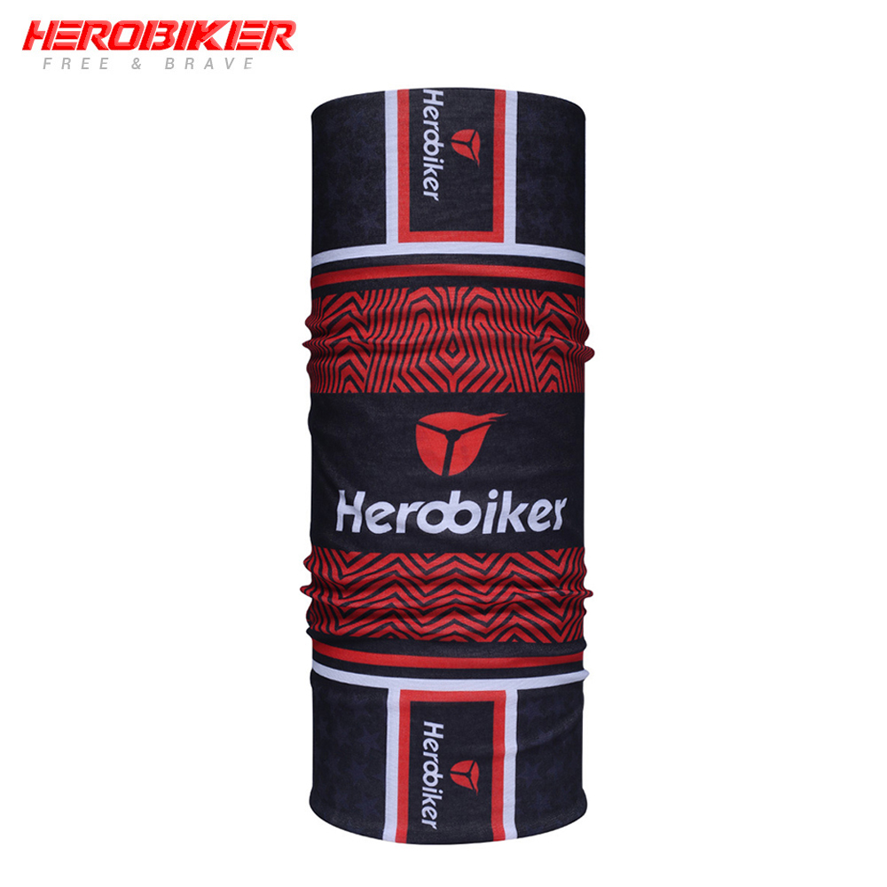 HEROBIKER Motorcycle Face Mask Moto Ski Mask Cycling Airsoft Paintball Neckerchief Tactical Outdoor Sports Motorcycle Mask Scarf in Motorcycle Face Mask from Automobiles Motorcycles
