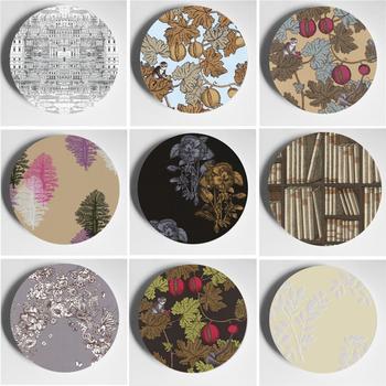 Płyta ścienna Milan Design rzemiosło rzemiosło dekoracyjne Studio domowe wystrój salonu modna sztuka płyta tanie i dobre opinie CN (pochodzenie) Ceramiczne i emaliowane Europa
