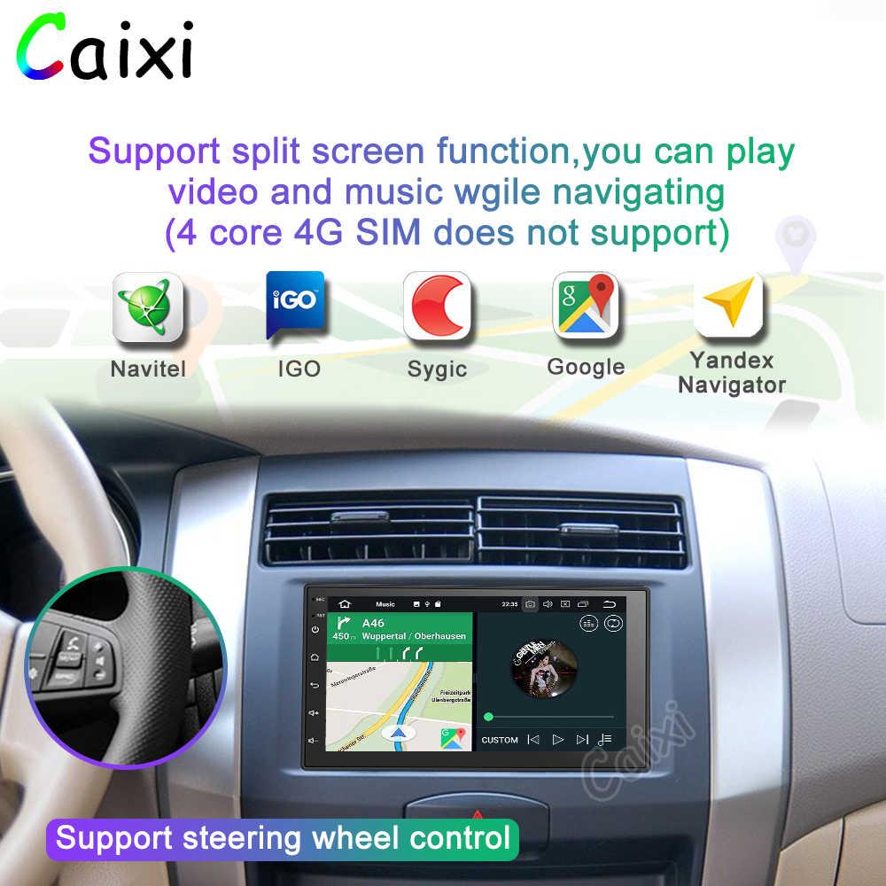 2 Din Android 9.0Car Radio Multimedia Player untuk Nissan Volkswagen TOYOTA Honda KIA Hyundai Mazda Universal Auto Stereo GPS Peta
