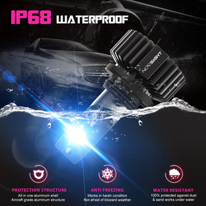 Image 5 - NOVSIGHT faro led Mini para coche, lámpara de 9006 K, hb4 9005, h7, h4, h1, h8, h11, 12v, 9006 hb3, 6500