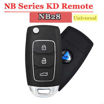 Free shipping (1 piece)Multi-functional KEYDIY NB28 3 button Remote key for KD900 KD900+ URG200 KD-X2 5 functions in one - sale item Security Alarm