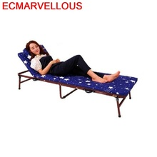 Mobilier Beach Chair Cama Plegable Mueble Meble Ogrodowe Longue Patio Folding Bed Outdoor Lit Garden Furniture Chaise Lounge bluerise chaise lounge folding beach chair outdoor furniture three positions sun lounger recline or lay flat tanning massage