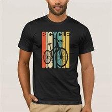2020 zelle tirmen nuevo tiene estilo vintage bicicleta silueta Camiseta Hombre verano