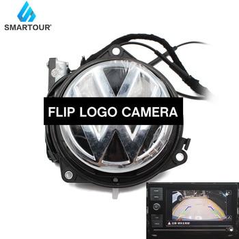 цена на For VW Volkswagen Logo Rear camera for Passat Golf 6 MK6 VI Passat B7 Magotan Beetle GTI CC Car parking Flipping Reverse Camera