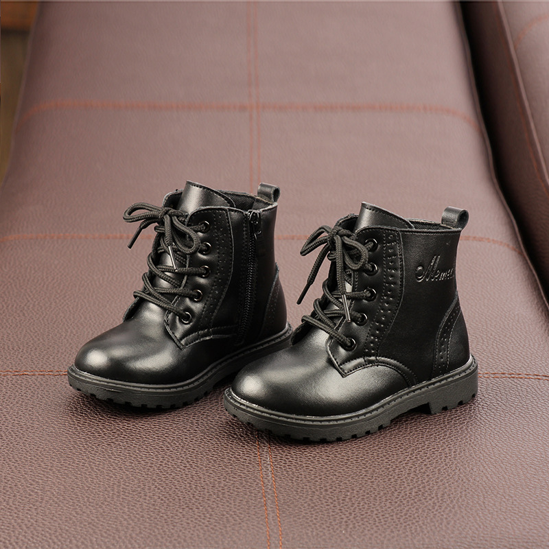 New Children Baby boots Kids Toddler Shoes Boys Girls School