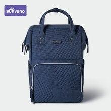 Sunveno sac à couches sac à dos maternité bébé Nappy sac poussette organisateur bébé voyage-mode, grande capacité, poches d'isolation