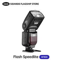 SIDANDE DF800II YONGNUO YN685 E-TTL HSS 1/8000s GN60 2.4G Wireless camera Flash Speedlite Speedlight for Nikon Canon DSLR Camera