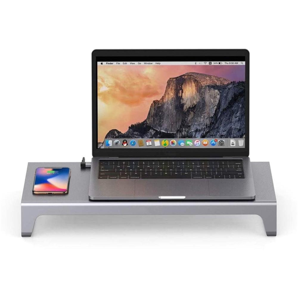 USB C A HDMI VGA 11 In 1 Multi funzione Dock Per MacbookHUB lettore di Schede Con Il Wireless di Ricarica