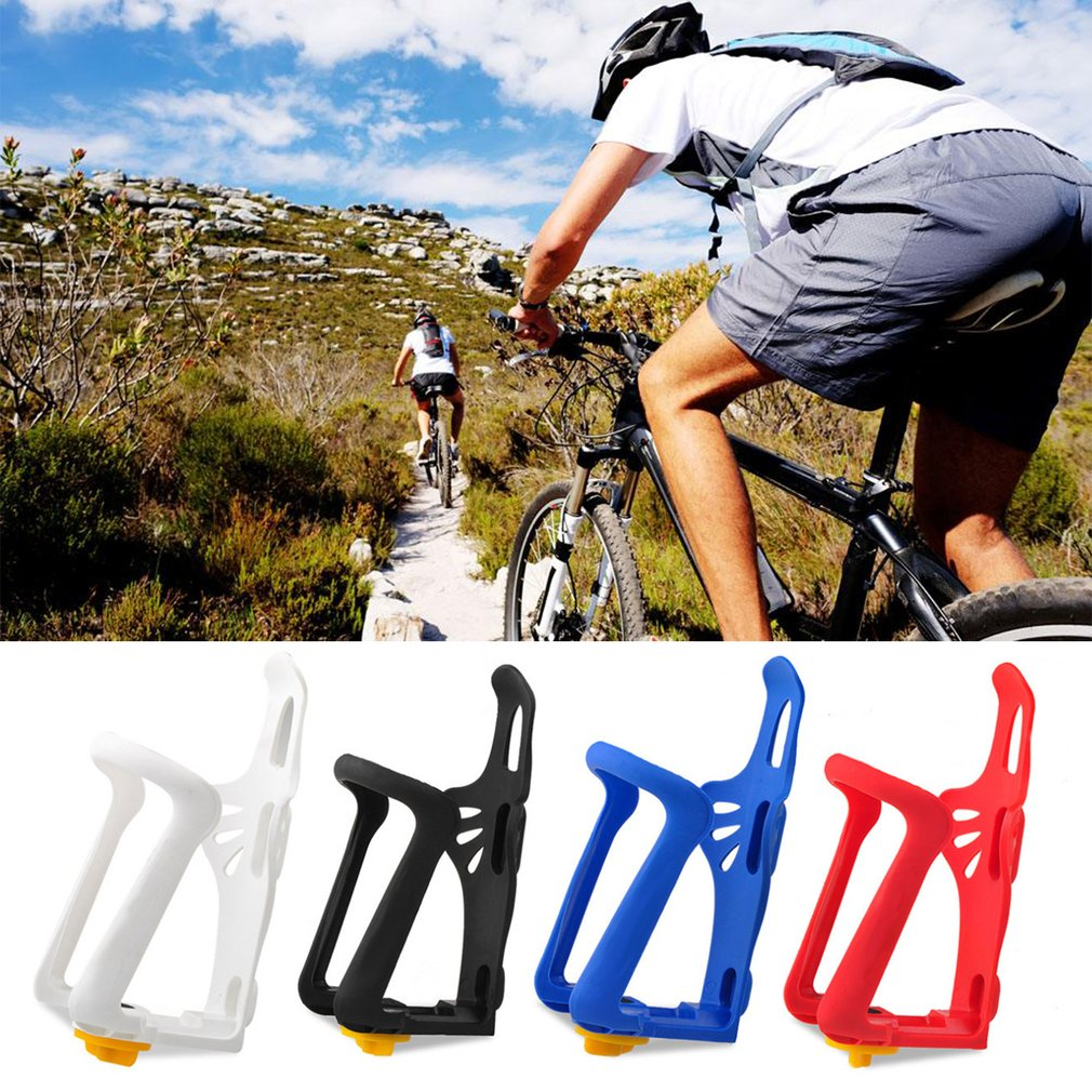 Practical Adjustable Mountain Bike Bicycle Water Bottle Holder Bottle Cage Durable Light Weight Plastic Bicycle