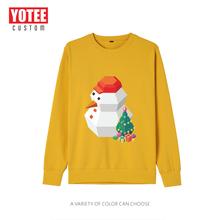 Yotee Рождественская одежда для пары зимние свитшоты мужчин