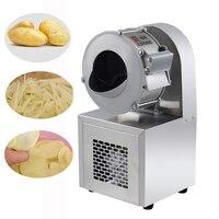 Máquina de corte elétrica comercial do gengibre da cenoura da batata do slicer multi-função máquina de corte automática sy-0710