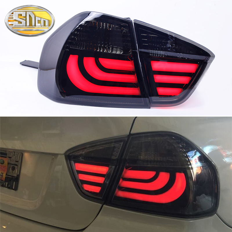 Rear Fog Lamp + Brake Light + Reverse + Turn Signal Car LED Tail Light Taillight For BMW E90 318i 320i 325i 2005 - 2012 image