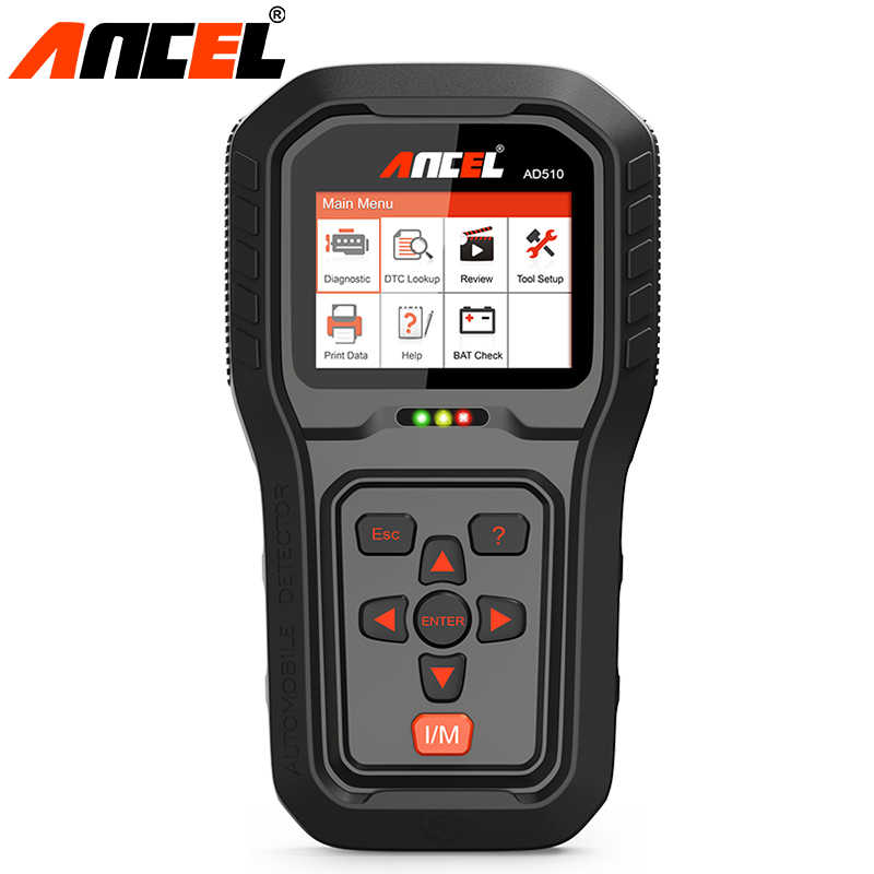 Ancel AD510 Pro OBD2 Odb Scanner Auto Diagnostic Tool Volledige Functie Automotive Scanner Auto Auto Scanner Obd Engine Code Reader