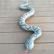1pcs Halloween PVC Inflatable Toy Big Python 120cm Snakes Scary Tidy Snake Garden Farm Pool Decorations
