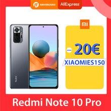 Versión Global Xiaomi Redmi Nota 10 Pro 64GB/128GB Smartphone 108MP Cámara Snapdragon 732G 120Hz Pantalla AMOLED