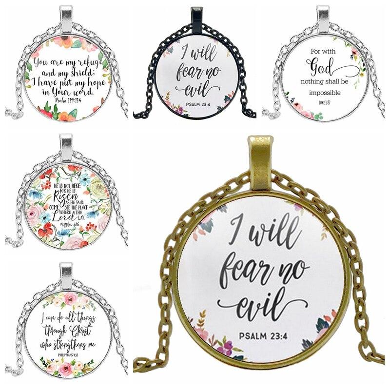 Креативные украшения, испанский Библия, молитвенный узор, гипоаллергенный Европейский ветер, подвеска для мальчиков и девочек, ожерелье, ювелирные изделия
