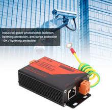 Monitoring-System Ethernet-Surge-Protector Lightning for Security-Using 10KV RJ45