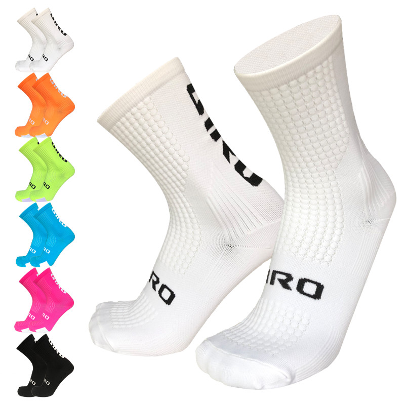 New Professional Competition Compression Cycling Socks Men Women Road Bicycle Socks Outdoor Racing Bike Sport Running Socks