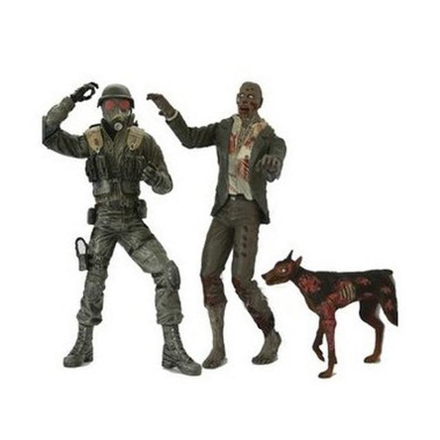 Figuras de acción de PVC de 2 juegos para niños y adultos, modelo de película de Anime, perro zombi Hunk, regalo de colección
