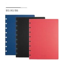 2020 buraco de cogumelo a5 b5 b6 tamanho notebook, capa 2 peças t puncher escritório acessórios divisor kawaii frete grátis